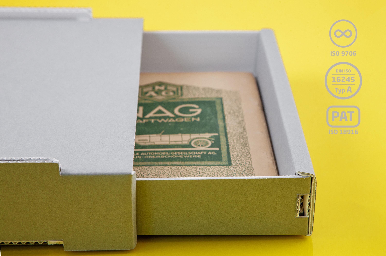FoxBox®  DIN A4 halbhoch