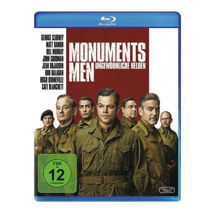 Monuments Men - Ungewöhnliche Helden (Blu-ray)