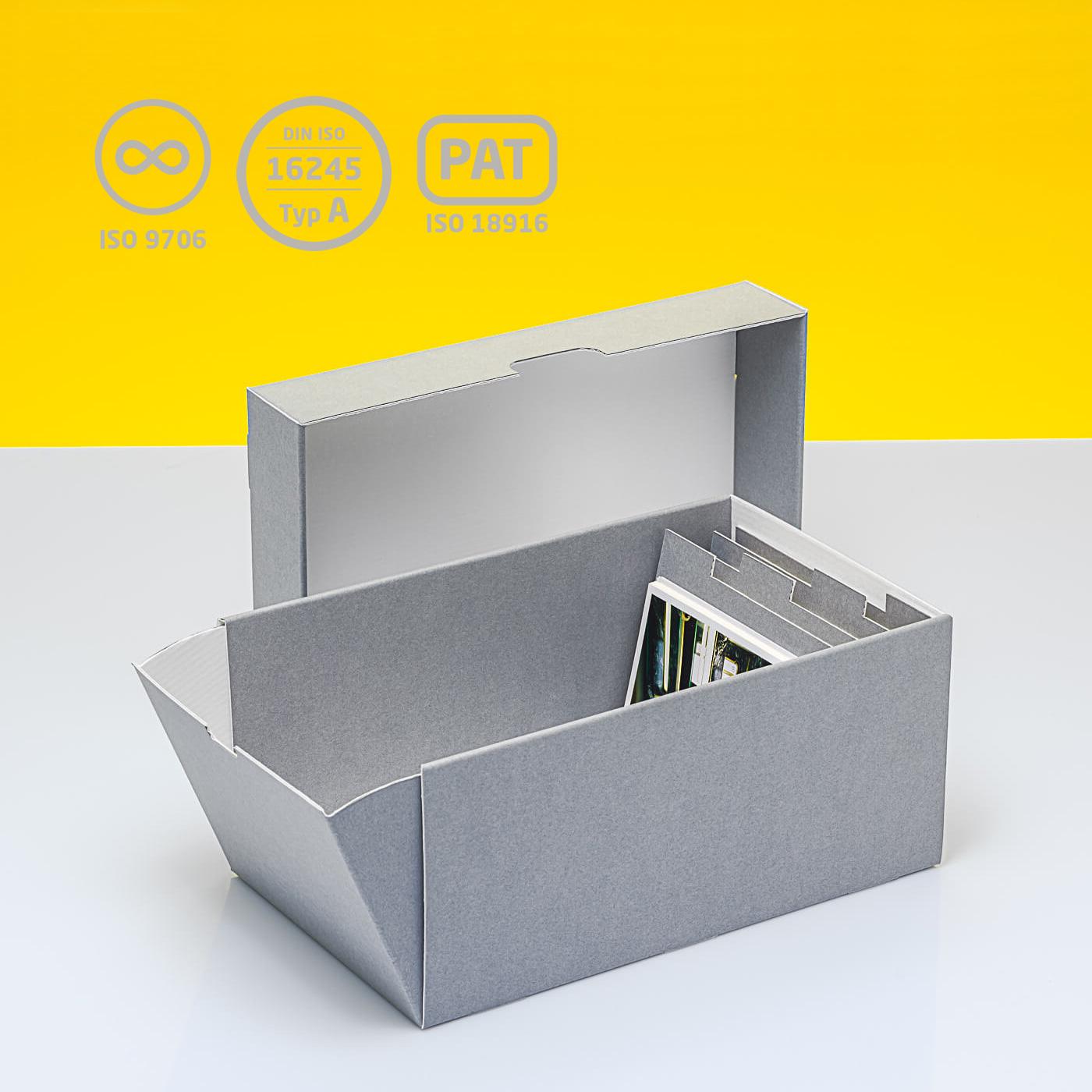 Fotobox mit vier losen Stegen