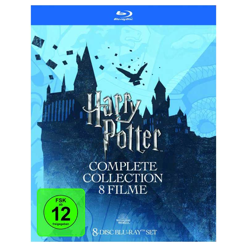 Harry Potter Complete Collection (8 Filme) (Blu-ray)