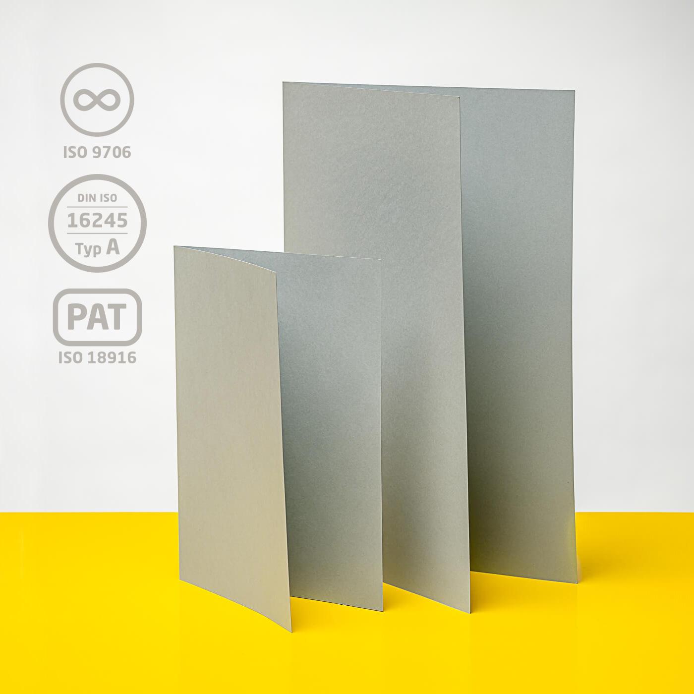 Einlegemappe ohne Klappe, 120 g/m²