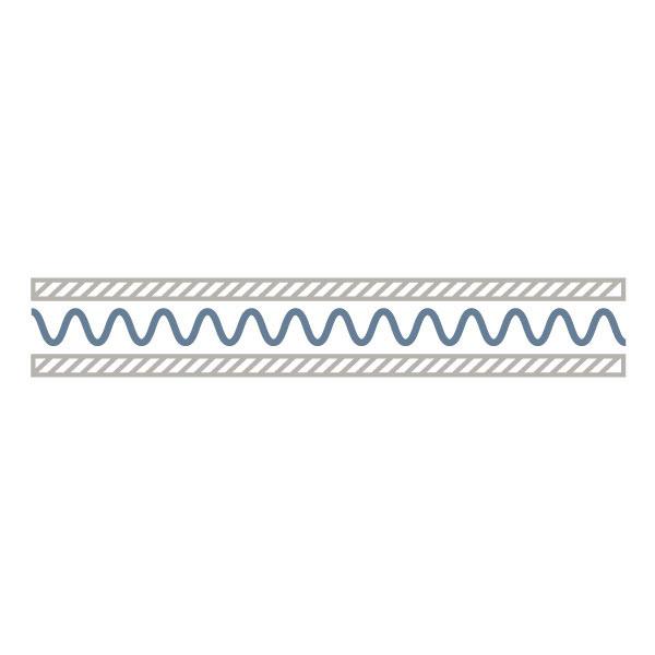 Bogenware Wellpappe - E-Welle 1.6 mm