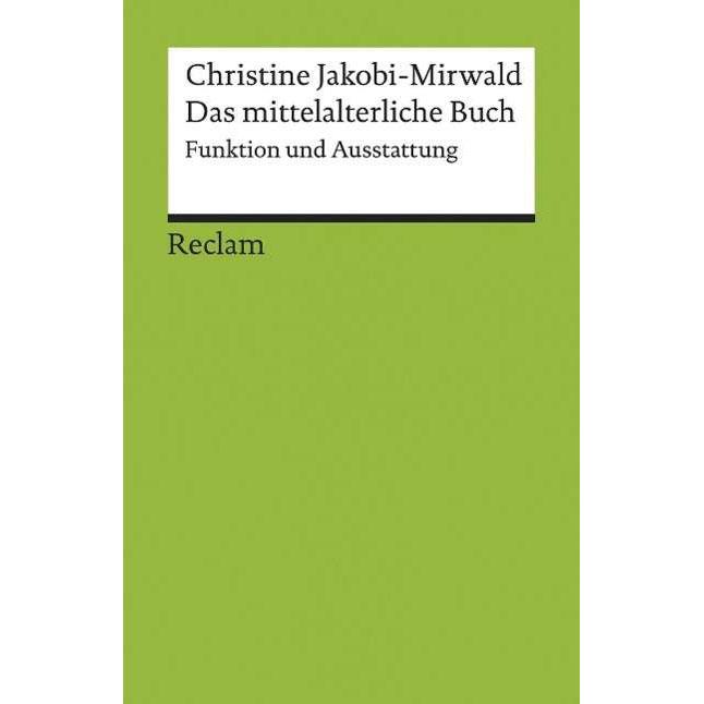 Das mittelalterliche Buch