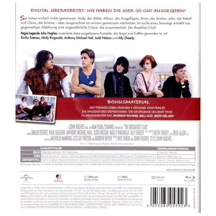 The Breakfast Club - Der Frühstücksclub (30th Anniversary Edition) (Blu-ray)