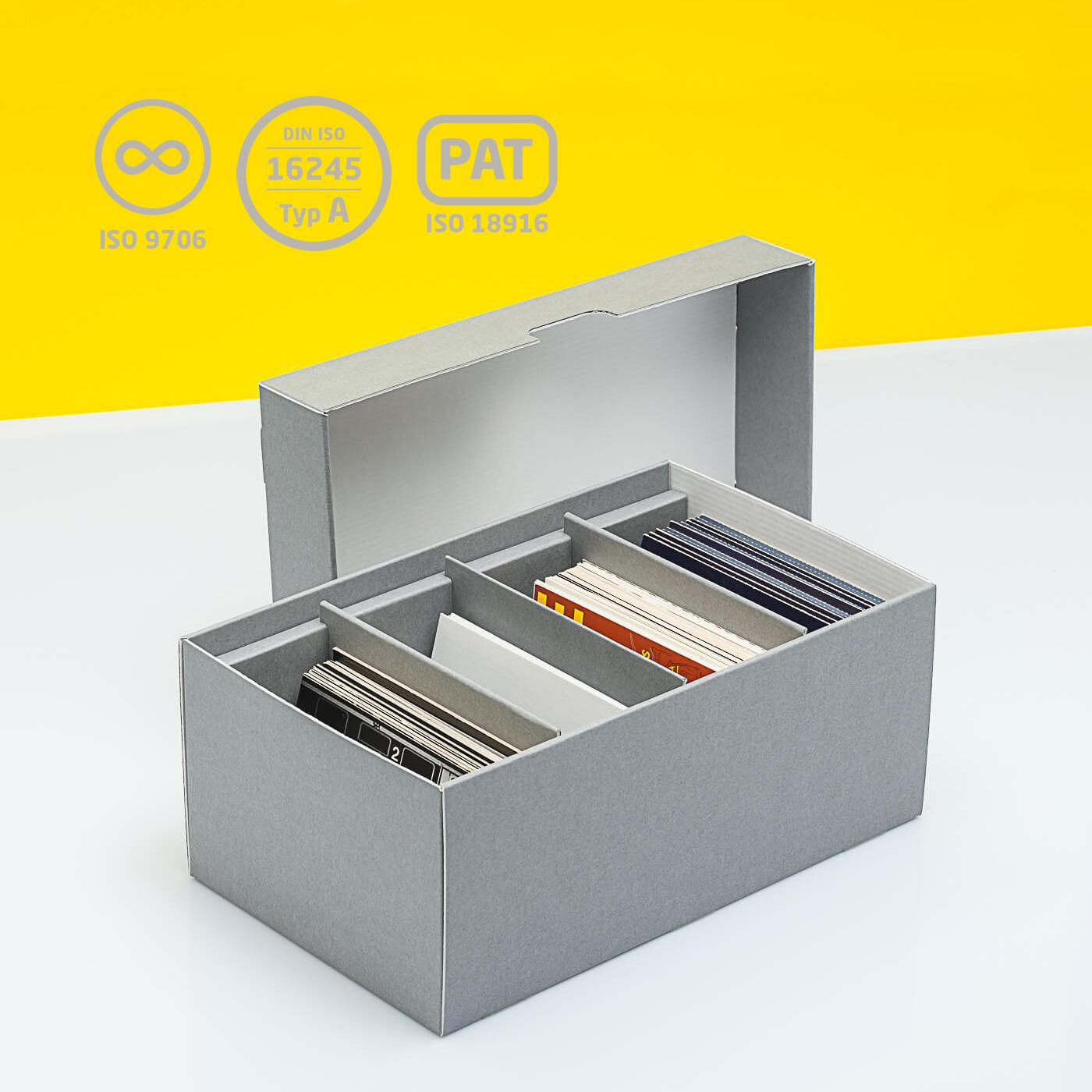 Fotobox mit drei festen Stegen