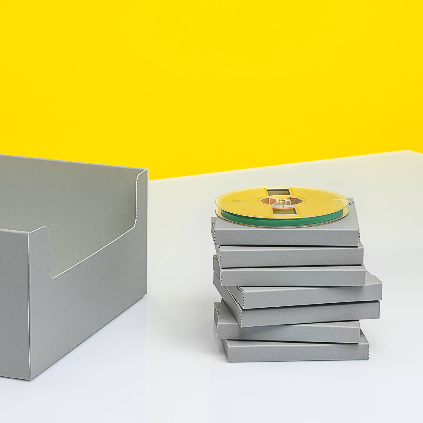 Tonband-Sammelbox