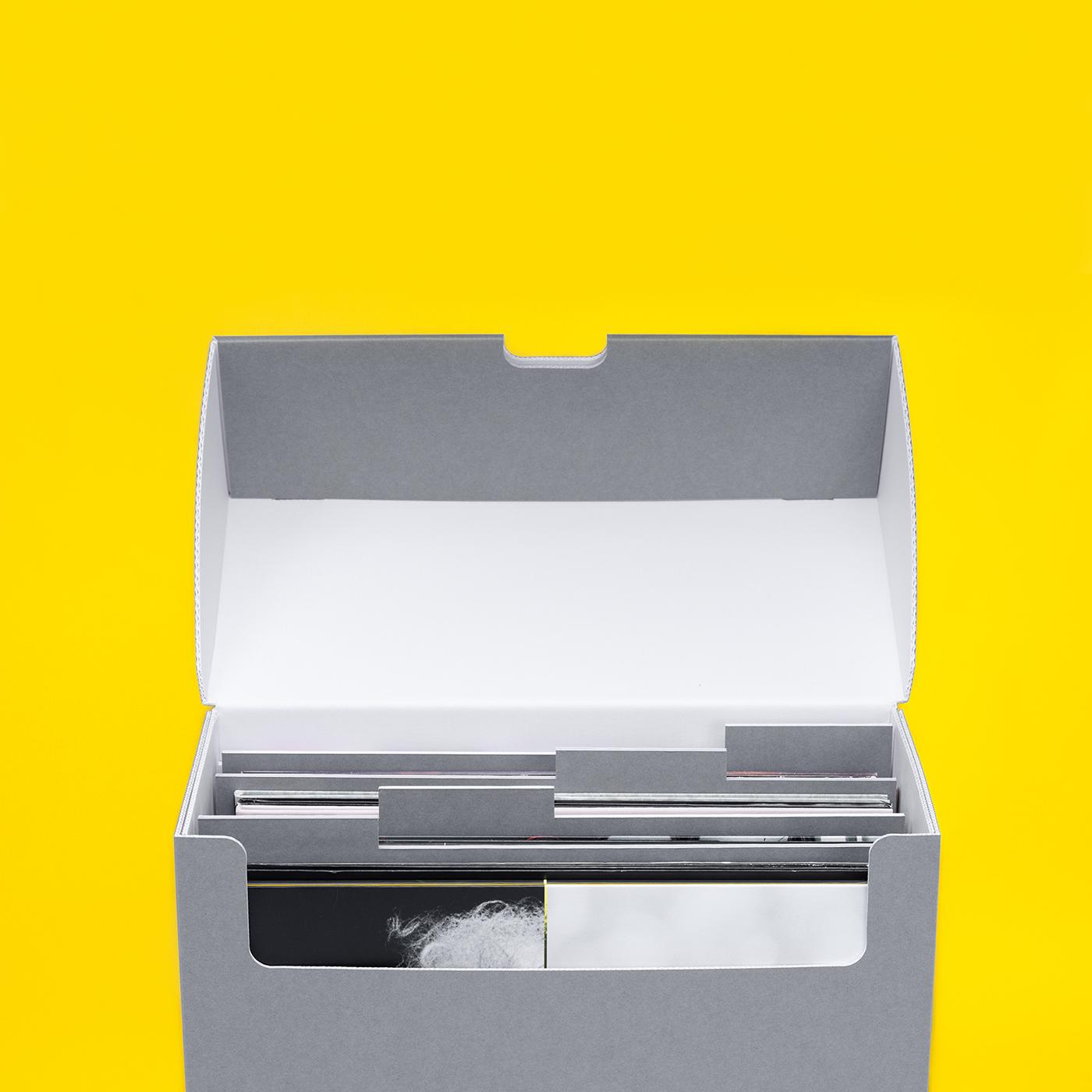 Schallplattenstandbox