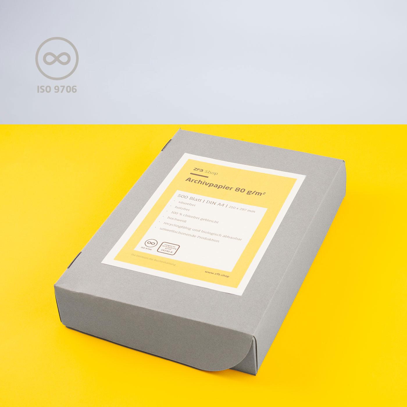 Archivpapier - 80 g/m²