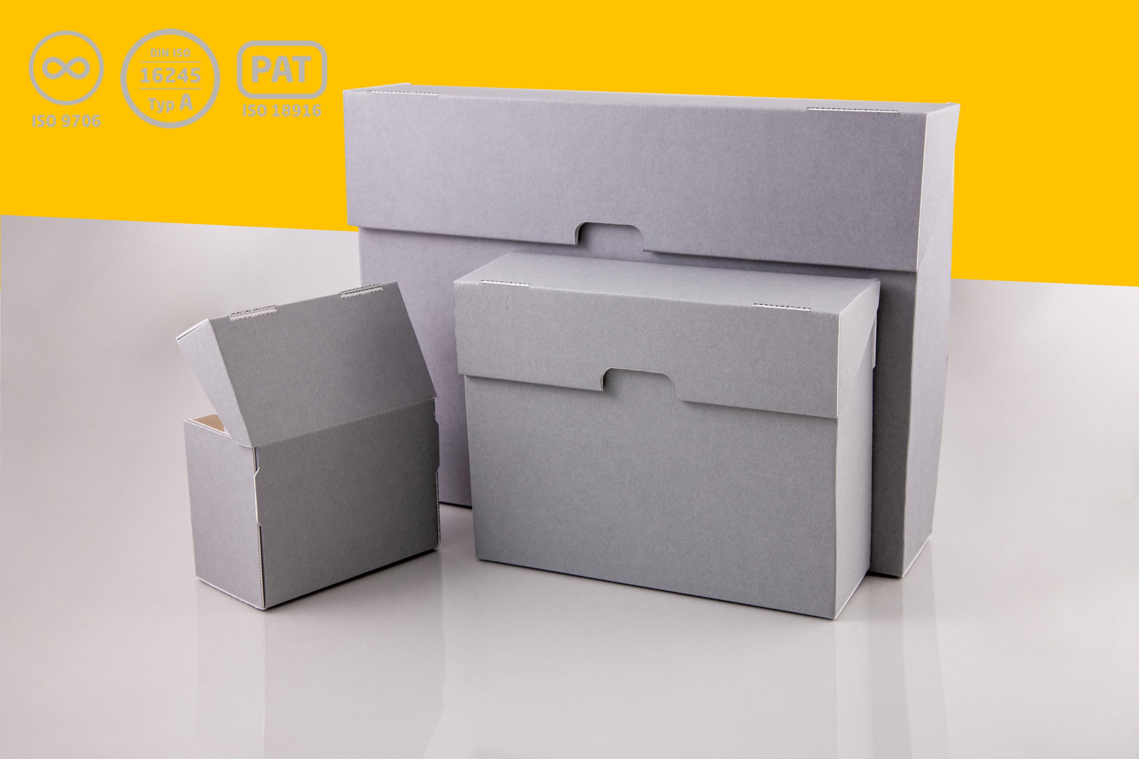 Standschachtel für Fotos und Glasplatten-Negative - PRODUKT DES MONATS!