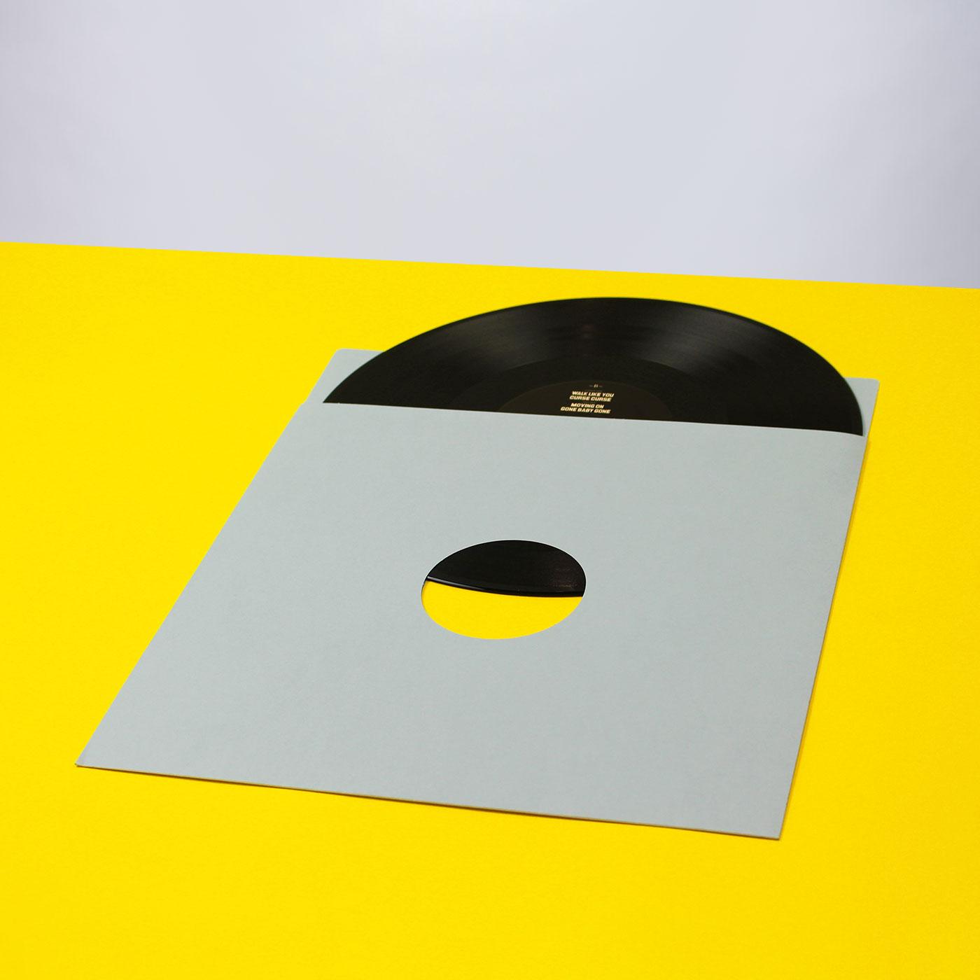 Schallplattentasche aus Archivkarton