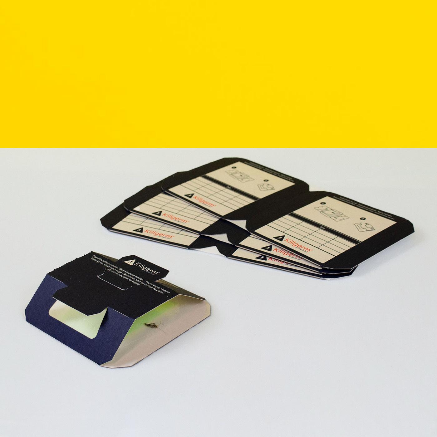 Killgerm® Papierfischchenmonitor für IPM Monitoring